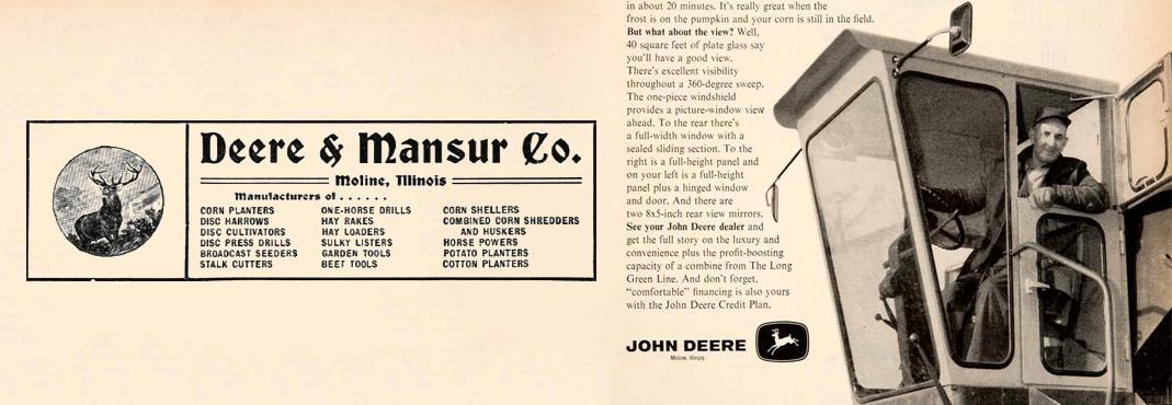 La minute (moto)culture – Episode 2 : John Deere – Un tracteur qui aura tracé son sillon !