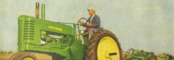 John Deere et les engins agricoles : culture du tracteur ou tracteurs de culture ?