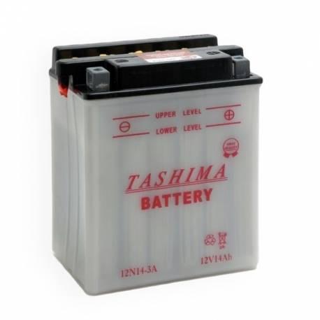 Batterie 12N14-3A - YB14L-A2 LIVRÉE AVEC ACIDE
