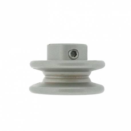 Poulie clavetée gorge trapézoïdale Ø ext. 50,80 mm Ø int. 15,88 mm PGT02