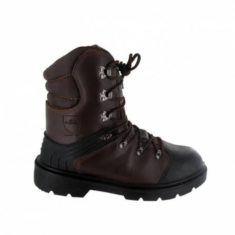 Chaussure de protection tronçonnage SOLIDUR Taille 45 - Norme CE EN-ISO-20345 - EN-ISO-17249