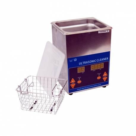 Nettoyeur à ultrason digital pour carburateurs - capacité réservoir 2L et puissance ultrason 50 W