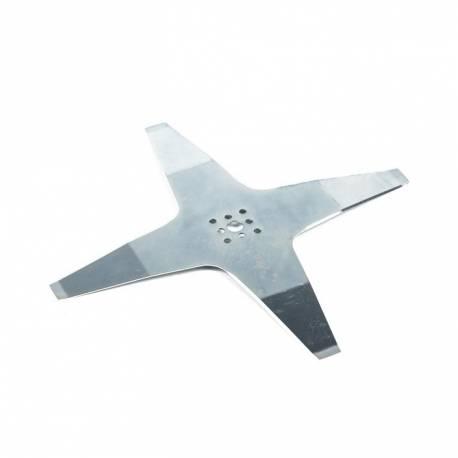 Lame robot tondeuse courbée 4 dents diamètre 250 mm AMBROGIO 050-d0018-00 - 050-d0018-02 - 942946 série l50 - l75