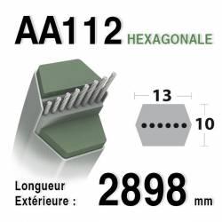 Courroie aa112 HUSQVARNA - AYP 169178 - 532402009 - 532169178 - 402009
