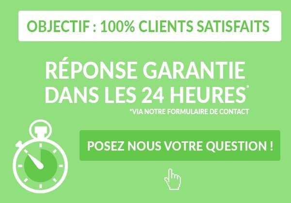 Service client réponse rapide